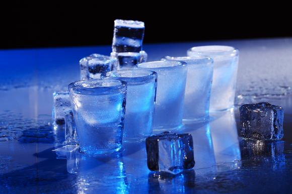 Ice Bar Leinwandbild