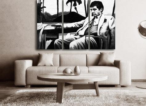 Scarface Gemälde
