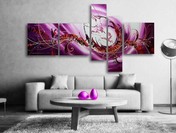 Gemälde Purple Sky