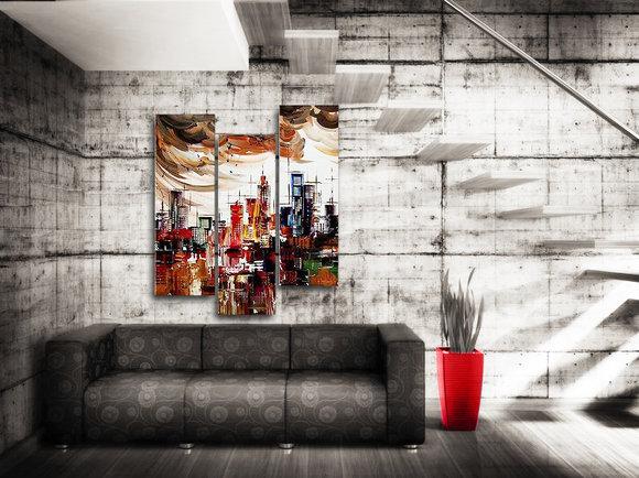 Gemälde SkyCity