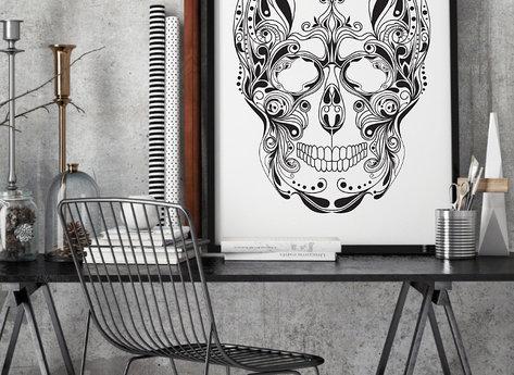 Prints - Skull