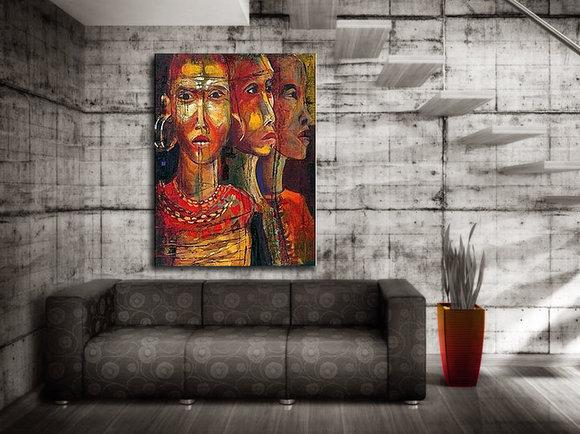 Gemälde Lubumbashi