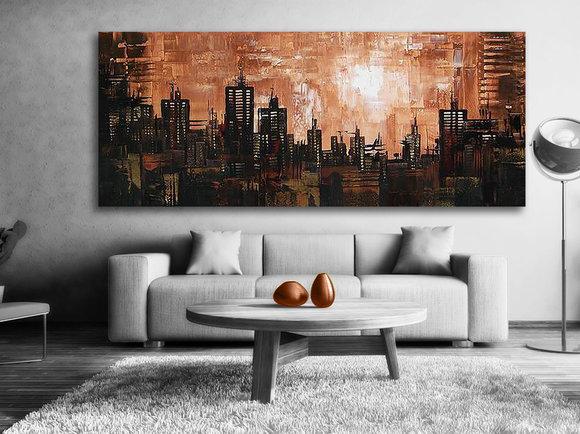 Abstrakt Gemälde Cape Town
