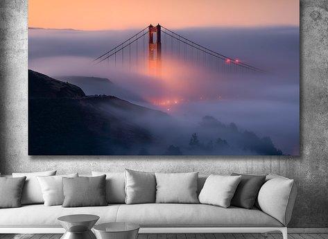 Photo Art - Golden Gate