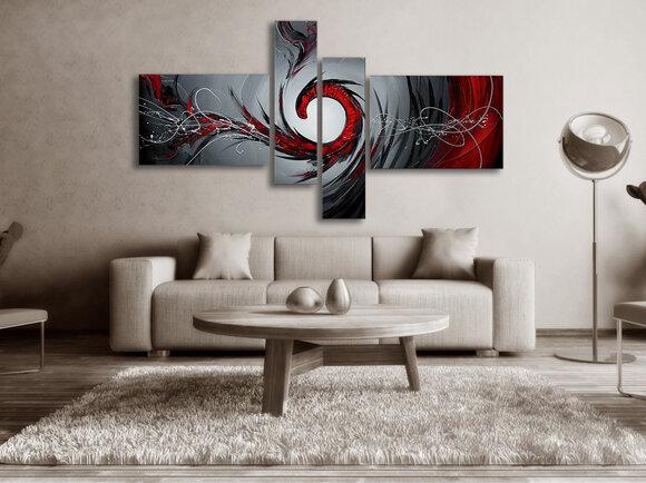 Gemälde Red Hills
