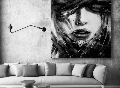 Abstract Painting - Philomena