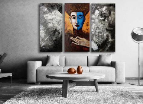 Gemälde Mysterious