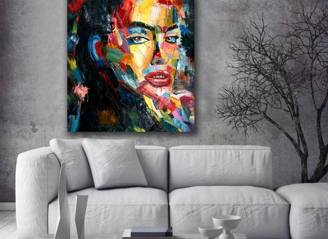 Abstract Painting - Elektra