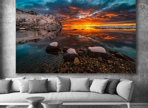 Photo Art - Sundown