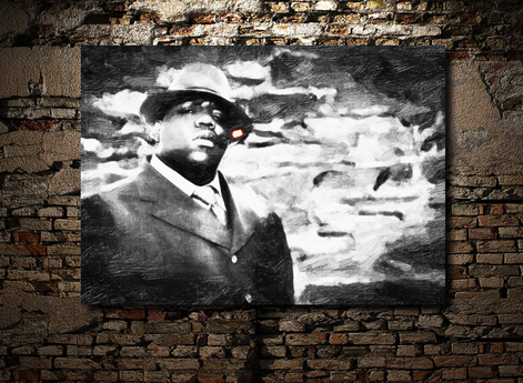 Biggie smalls Gemälde