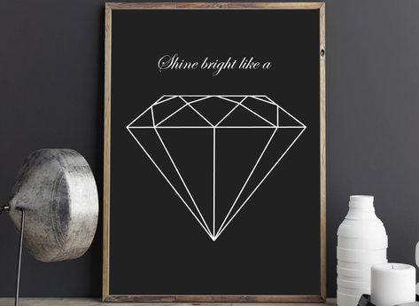 Prints - Diamond