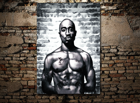Tupac Gemälde