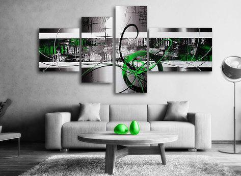 Gemälde Green Day