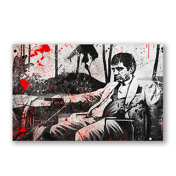 "Scarface Gemälde ""Bloody"""