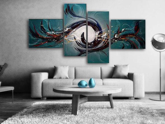 Gemälde Phoenix Rises