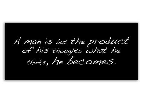 A man is