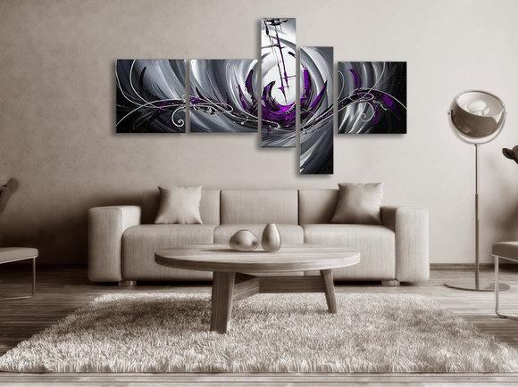 Gemälde The Purple Sea