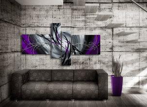 Gemälde Mystic Purple