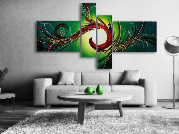 Gemälde Rain Forest