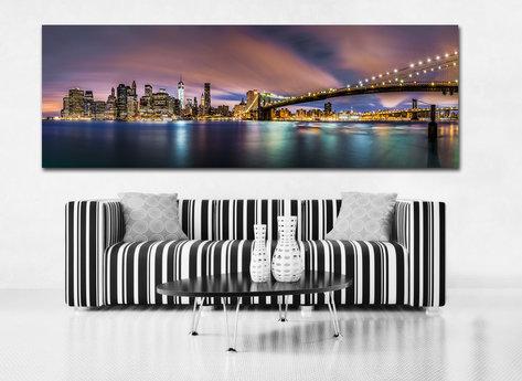 Canvastavla - Manhattan Bridge