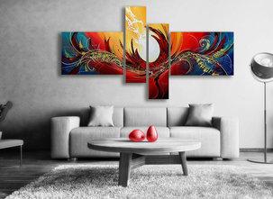 Gemälde Angel Fire