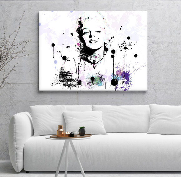 Marilyn Monroe Canvasprint