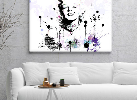 Marilyn Monroe Canvasprint