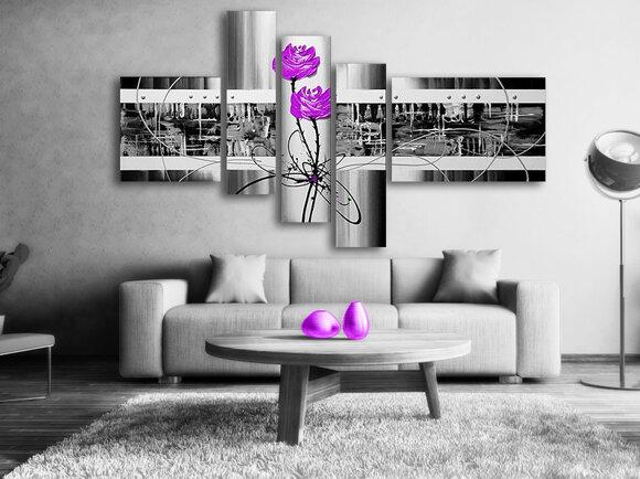 Gemälde Purple Love