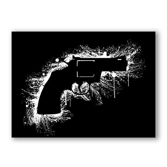 Bang Canvasprint