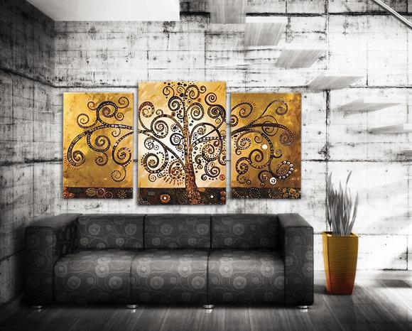 Gemälde Golden Tree