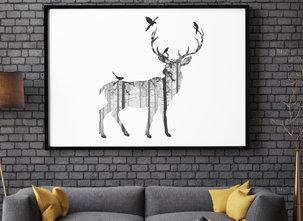 Prints - Deer