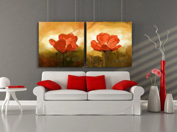 Red Dream - Gemälde