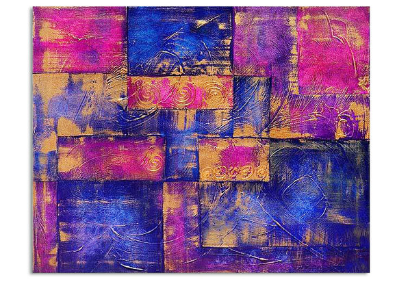 Gemälde Purpur