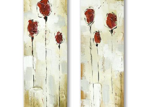 Red Roses - Gemälde