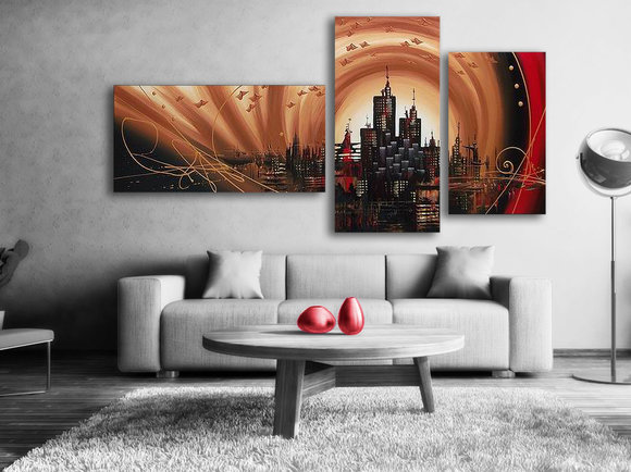 Gemälde Sandstorm
