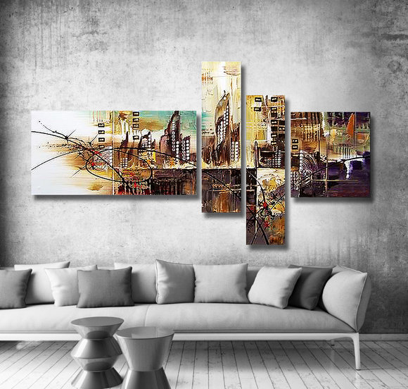 Gemälde Diamond City