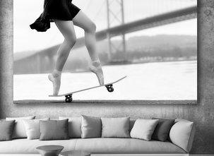 Ljuddämpande - Skater