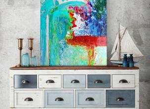 Abstrakt -  Turquoise