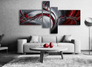 Gemälde Red Phoenix