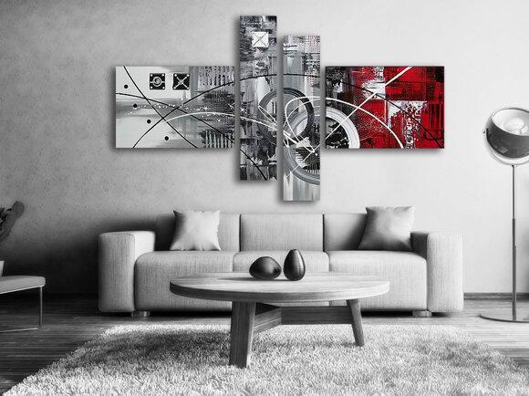 Gemälde La Red