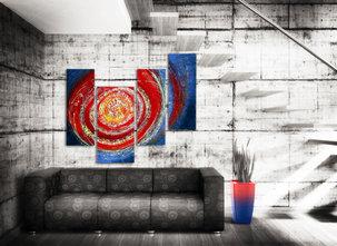 Gemälde Blue Exotica