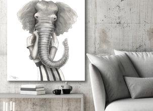 Katarina Vintrafors - Elephant woman